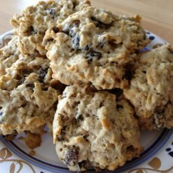 Oatmeal Raisin Cookies Made With Splenda  Sugar Blend for Baking recipe