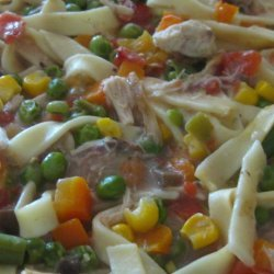 Easy Chicken Noodle Casserole recipe