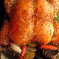Garlic Roast Chicken (Barefoot Contessa) recipe