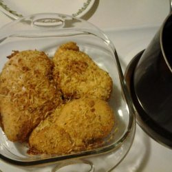 Baked Parmesan Crusted Chicken Breast recipe