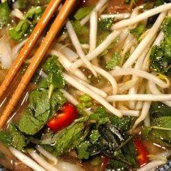 Pho Bo - Beef Noodle Soup recipe
