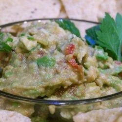 Guacamole for 1 or 2 recipe