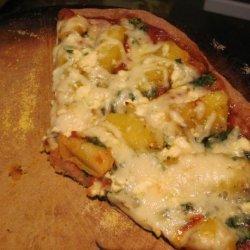 Roasted Squash and Sage Pizza (Or Pita Pizza or Burrito) recipe
