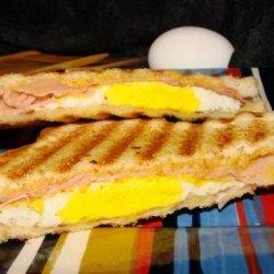 Grilled Breakfast Sandwich recipe