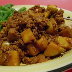 Curried Ground Beef recipe