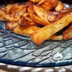 Baked Wedges With Fresh Rosemary and Sea Salt recipe
