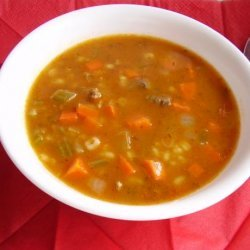 Classic Beef Barley Soup recipe