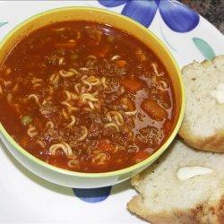 Ramen Noodle Vegetable Soup recipe