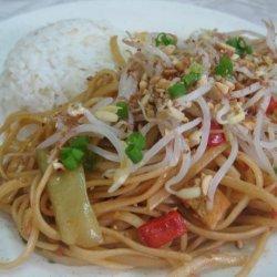Low Fat, Low Cal, Vegan Pad Thai recipe