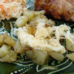 Microwave Potatoes a La Helga recipe