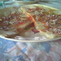 Pizza Quesadillas recipe