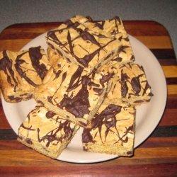 Chocolate Chip Cake Bars recipe