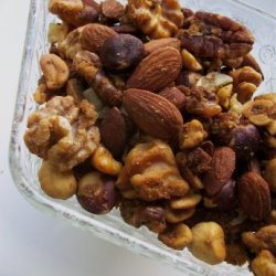 Simple Sweet and Savory Spiced Walnuts recipe