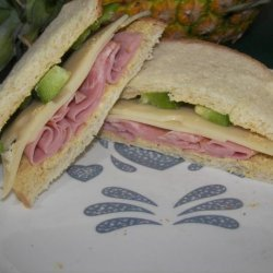 Ham and Cheese Sandwiches recipe