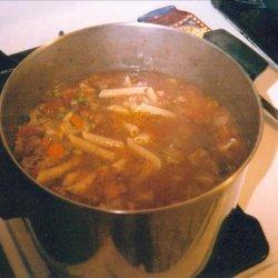 The Ospidillo Cafe Minestrone Soup recipe