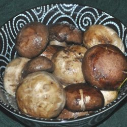 Baked Garlic Mushrooms recipe