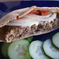 Grecian Meatloaf Gyros recipe
