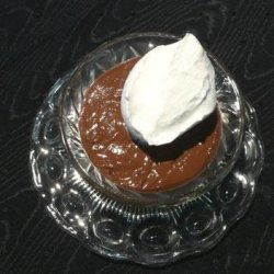 Chocolate Chocolate Pudding for 2 recipe