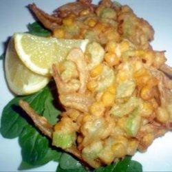 Shaza's Favourite Corn Fritters recipe