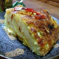 Pepper and Potato Tortilla recipe