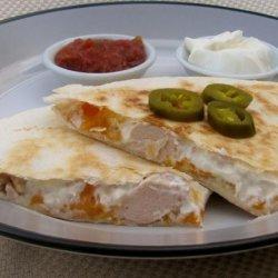 Quick and Easy Chicken Quesadillas recipe