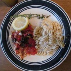 Tilapia Italiano recipe