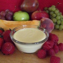 Sweet Lemon Fruit Dip recipe