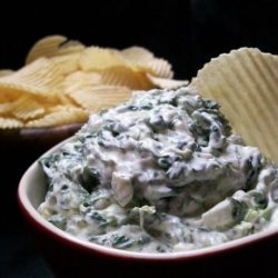 Low Fat Spinach Onion Dip recipe