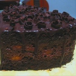 Chocolate Layer Cake with Chocolate Glaze recipe