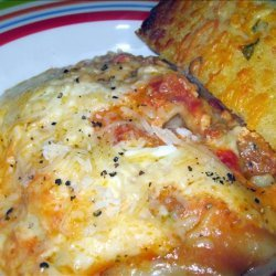 Slow Cooker Cheesy Lasagna With Sausage and Beef recipe