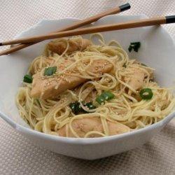 Teriyaki Chicken Noodle Salad recipe