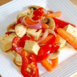 Tofu Salad - Easy Vegan - Make Ahead (Moosewood) recipe