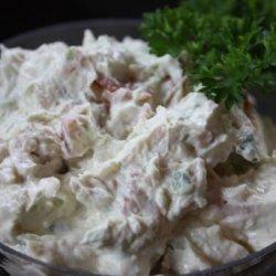 Creamy Horseradish Bacon Dip recipe