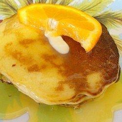 Orange Dessert Pancakes recipe