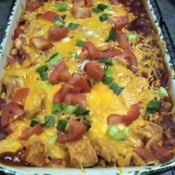 Easy Chicken Enchilada Casserole recipe