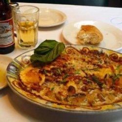 Romano's Macaroni Grill Pasta Di Pollo Al Sugo Bianco recipe