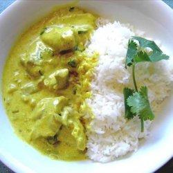 Chicken Korma a'la Eve recipe