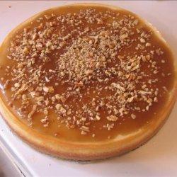Eggnog Cheesecake With Pecan Caramel Sauce recipe