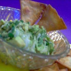 Tortilla Triangles With Avocado Salsa recipe