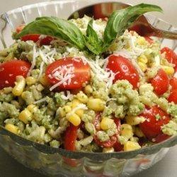 Barley Salad With Tomatoes and Corn recipe