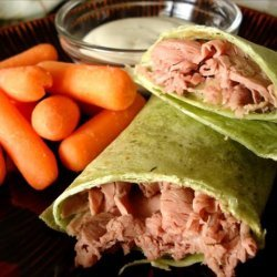 Yummy, Fast and Easy Roast Beef Wrap recipe