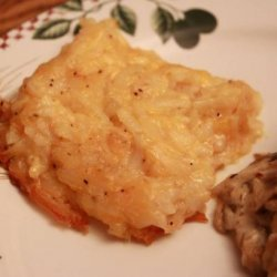 Barrel of Crackers Hash Browns Casserole - Copycat recipe