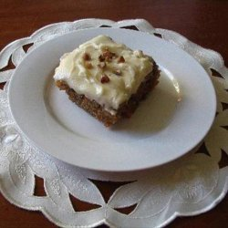 Kathy's Carrot Cake recipe