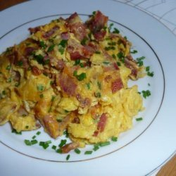 Deanna's Eggs, Chives and Bacon recipe