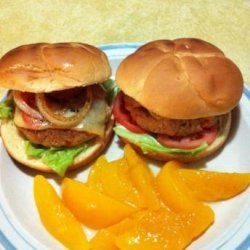 Fresh Salmon Burger recipe