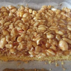 Peanut Butter Marshmallow Cookie Bars recipe