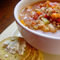 Crock Pot Chicken and Bean Soup recipe