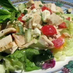 Chicken Salad With Mint and Feta recipe