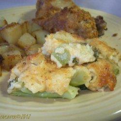 Broccoli and Cauliflower Gratin recipe
