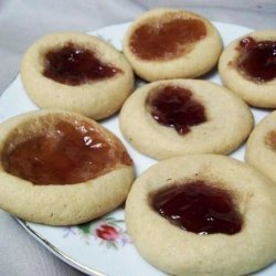 Peanut Butter and Jam Cookies recipe